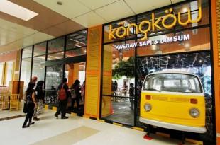 Kongkow Restoran ada di TangCity Mal.