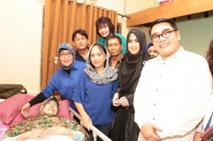 Pafindo peduli Aminah Cendrakasih. Foto: Juma