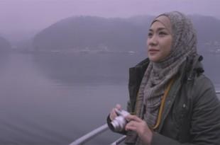 BCL dalam film Bunga Citra Lestari Berhijab Dari Awal Hingga Akhir di film Jilbab Traveler: Love Sparks in Korea. Foto: Ist.
