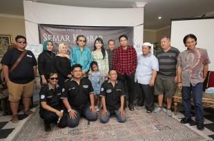 Artis-artis Semar Kembar Production. Foto: Dudut Suhendra Putra.