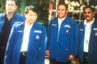 Nelwan Rompis, (dua dari kanan) bersama panitia inti NARA Cup.(Ist)