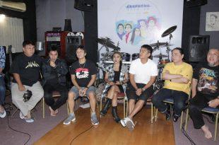 Prescon Peluncuran album baru Krakatau band, Jumat (2/12/2016) di Jakarta. Foto: Dudut Suhendra Putra.
