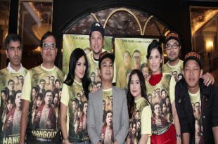 Prescon film Hangout. Foto: Dudut Suhendra Putra.