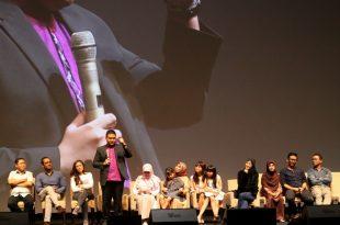 Prescon jelang film Cinta Dua Kodi siap diproduksi di Jakarta, akhir pekan kemarin. Foto: Ki2.
