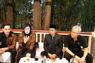 Prescon Paytren, Sabtu (6/5/2017) di Bandung. Foto: Ibra.