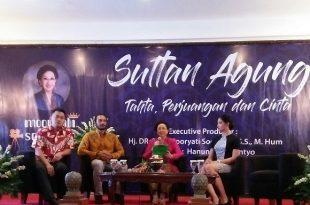 Prescon Film Sultan Agung, Selasa (15/8/2017). Foto: Ibra.