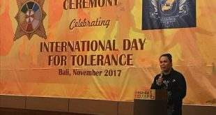 Damien Dematra selaku founder dan director dari International Film Festival for Spirituality, Religion and Visionary (IFFSRV) 2017. Foto: Ist.