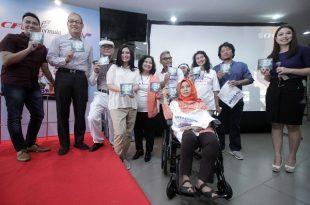 Rabu (4/4/2018) kemarin di CFC Bangka diluncurkan DVD film Doraemon. Foto; Dudut Suhendra Putra.