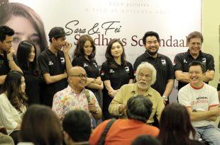 Film Stadhuis Schandaal jadi buah bibir masyarakat. Foto: Dudut Suhendra Putra.