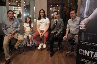 Prescon soft lounching film Cinta Mati. Foto: Dudut Suhendra Putra.