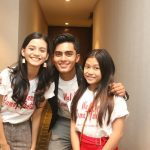 Mereka (Renald Ramadhan, Adzwa Aurell, dan Nadira Sungkar) yang terlibat di film Wahana Rumah Hantu, Foto: Ican.