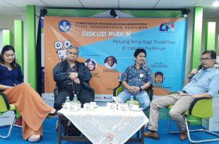 Diskusi film yang digelar Pusbang Film Kemndikbud. Foto: ibra.
