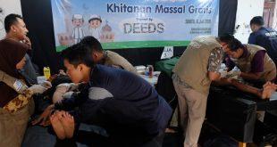 Khitanan Gratis Kembali Digelar Yayasan Dana Mustadhafin