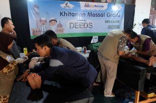Khitanangratis yang digelar yayasan Dana Mustadhafin, Sabtu (6/7/2019) di Jakarta. Foto: Dudut Suhendra Putra.
