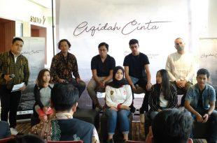 Prescon film Aqidah Cinta. Foto: ist.