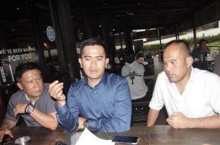 Gugum Ridho Putra saat memberikan keterangan pers pada awak media di jakarta, Rabu (14/9/2019). Foto: ki2.