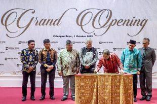 Grand Opening hotel di Palangkarya. Foto; Ist.