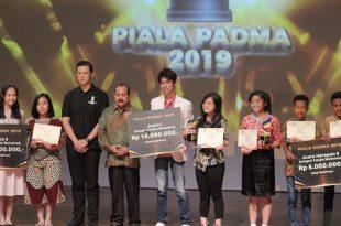 Mereka yang berjaya di piala Padma 2019. Foto: Dudut Suhendra Putra.