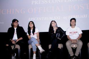 "Suasana prescon film Roh Mati Paksa ""Cinta Berujung Maut"" di XXI Epicentrum, jakarta Selatan, Jumat (7/2/2020) kemarin. Foto: Ki2."