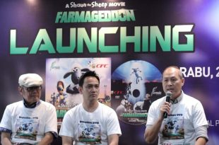 Suasana prescon launching film DVD Shaun The Sheep The Movie: Farmageddon. Foto: DSP.