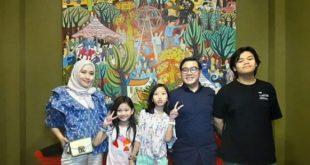 Aisyah Gion Prabowo Dua Kali Rayakan Ultah
