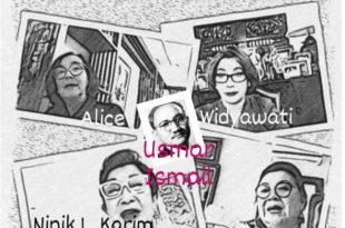 Empat Pesohor wanita di film,  Foto: Ibra dan Dudut. Usmar Ismail. Foto: Ist.